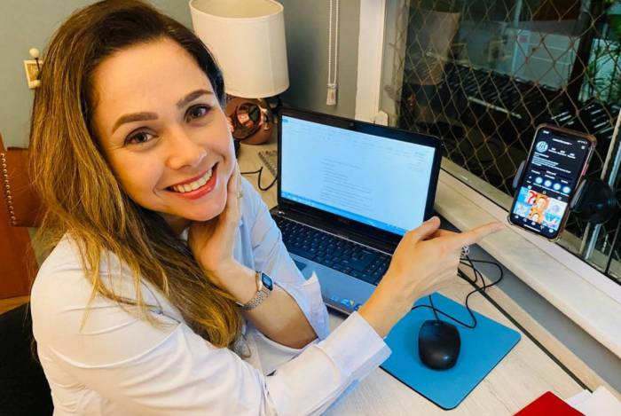 Manuela Freire, diretora do colégio