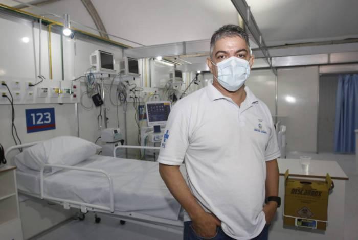 O secretário estadual de Saúde Fernando Ferry