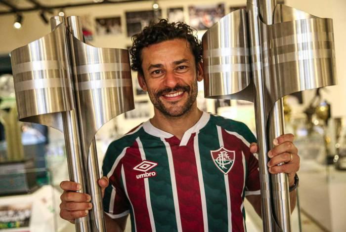 O atacante Fred retorna ao Fluminense depois de seis anos
