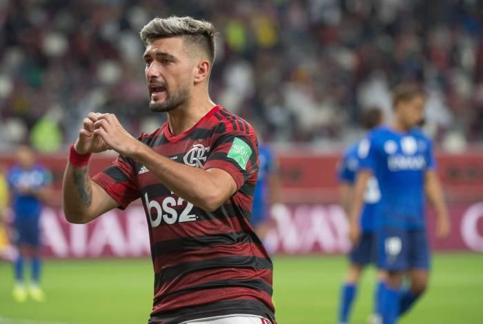 Arrascaeta chegou ao Flamengo no ano passado