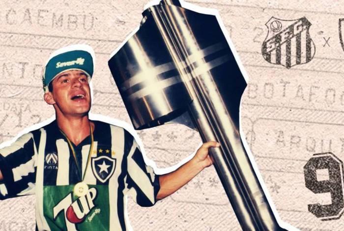 Túlio Maravilha foi campeão brasileiro em 1995 com a camisa do Botafogo