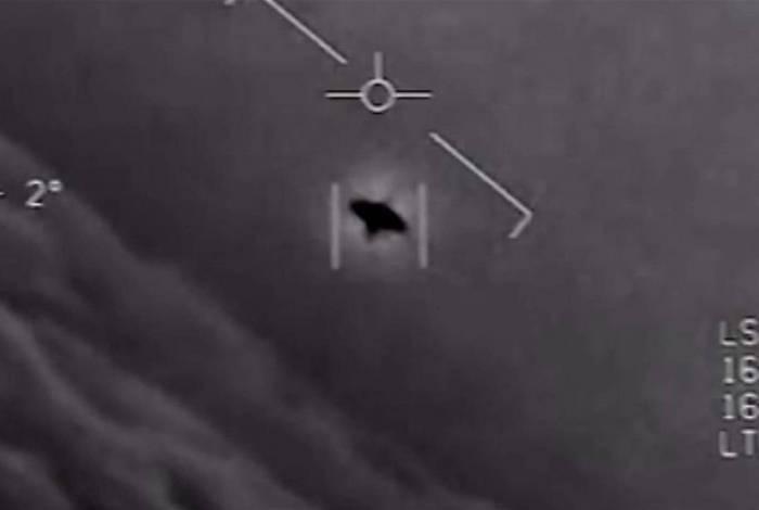 Ilustrativo: Vídeo liberado pelo Pentágono mostra objeto voador não identificado