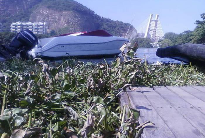 Inea instalará ecobarreiras em lagoas no Rio de Janeiro