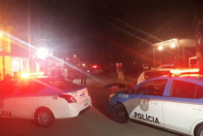 Polícia foi acionada para verificar a ocorrência de quatro mortes em Vargem Grande, Zona Oeste do Rio