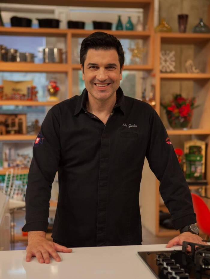 Edu Guedes, programa de culinária na RedeTV!