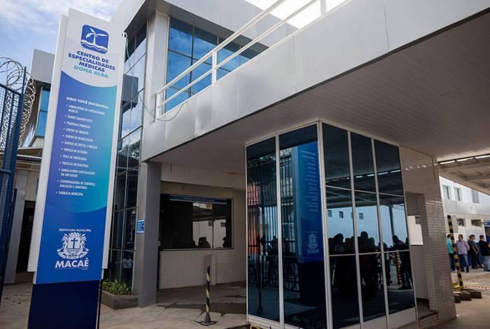 Os testes serão realizados no Centro de Especialidades Médicas Dona Alba, no Centro