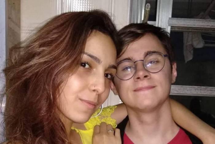 Rafael Miguel e Isabela Tibcherani