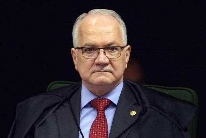 O ministro Luiz Edson Fachin, do Supremo Tribunal Federal (STF)
