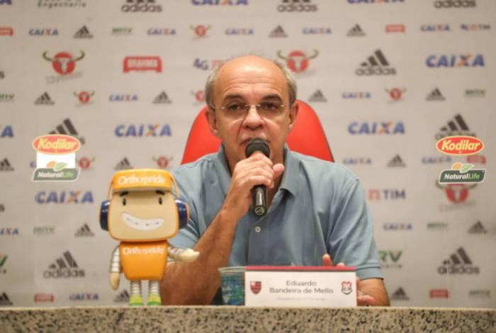 Eduardo Bandeira de Mello foi presidente do Flamengo de 2013 até 2018