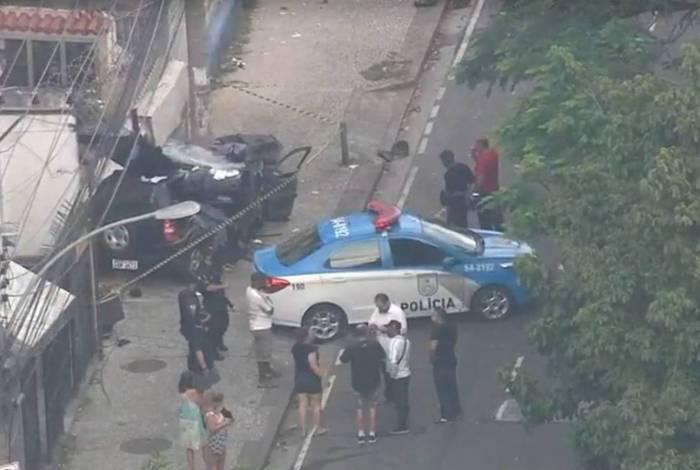 Acidente na Tijuca deixou mulher e criança mortas