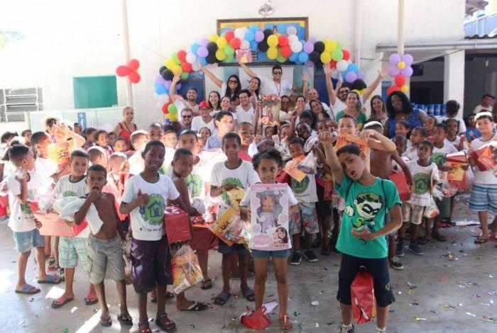 Creche Girassóis, no Caramujo: doações transformaram uma realidade