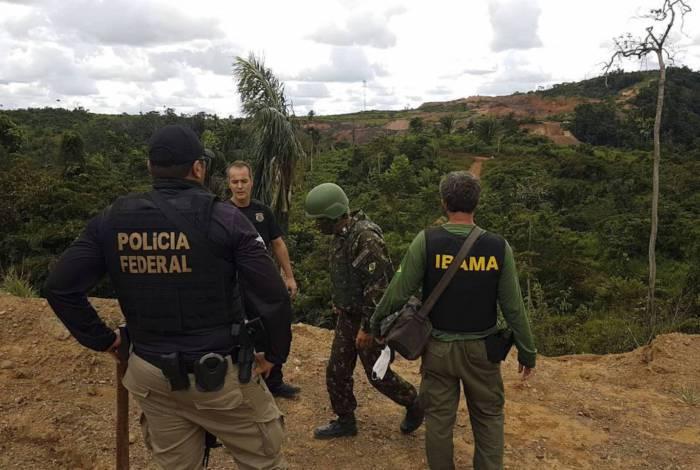 Operação Verde Brasil, Garimpo ilegal, Marabá