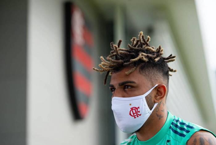 Artilheiro do Flamengo, Gabigol ousou no novo penteado