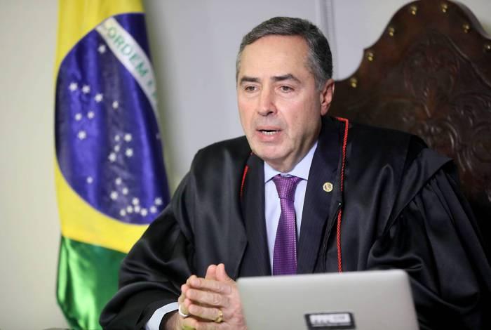 Ministro Luís Roberto Barroso, atual presidente do TSE