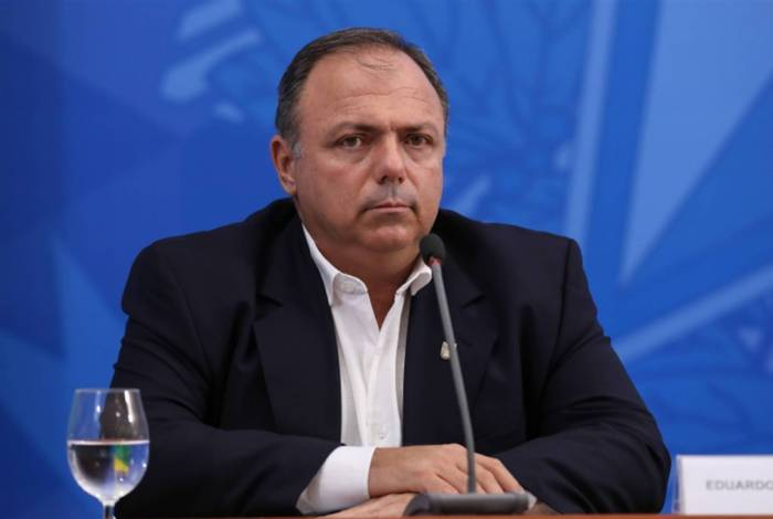 Eduardo Pazuello, à frente do Ministério da Saúde