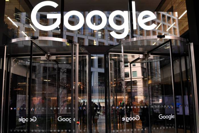 Prédio do Google em Londres