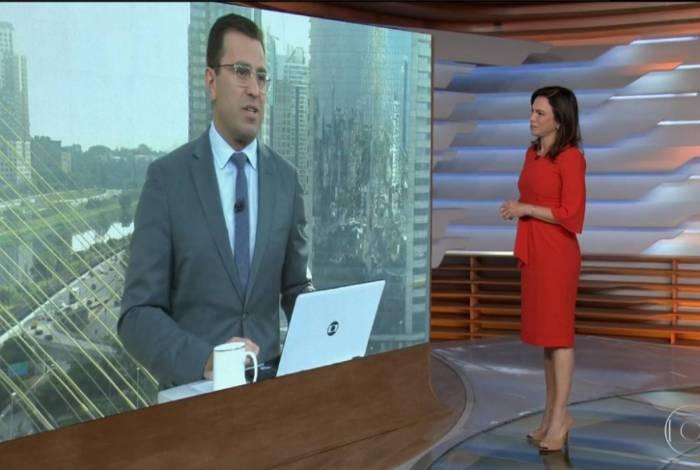 Rodrigo Bocardi e Ana Paula Araújo