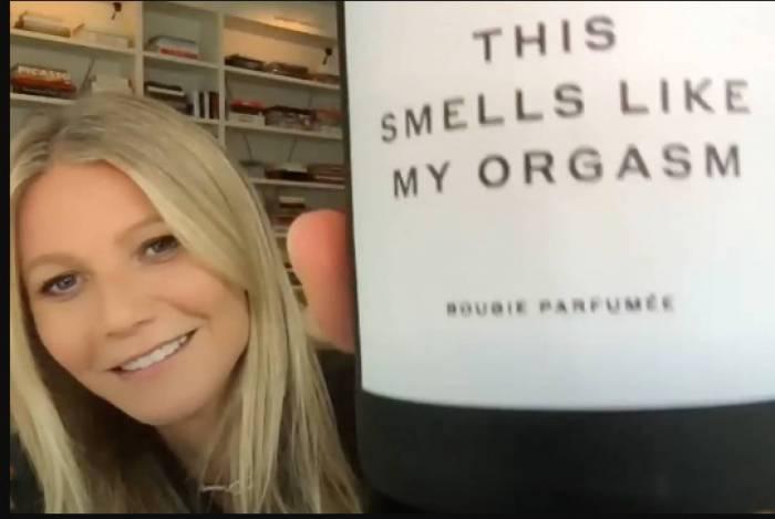 Gwyneth Paltrow e sua vela com cheiro de orgasmo