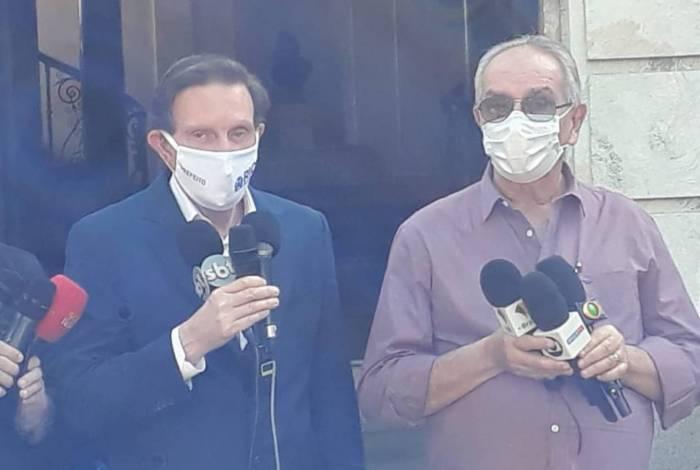 Crivella fala sobre adiamento de parcelas do consignado de servidores do Rio