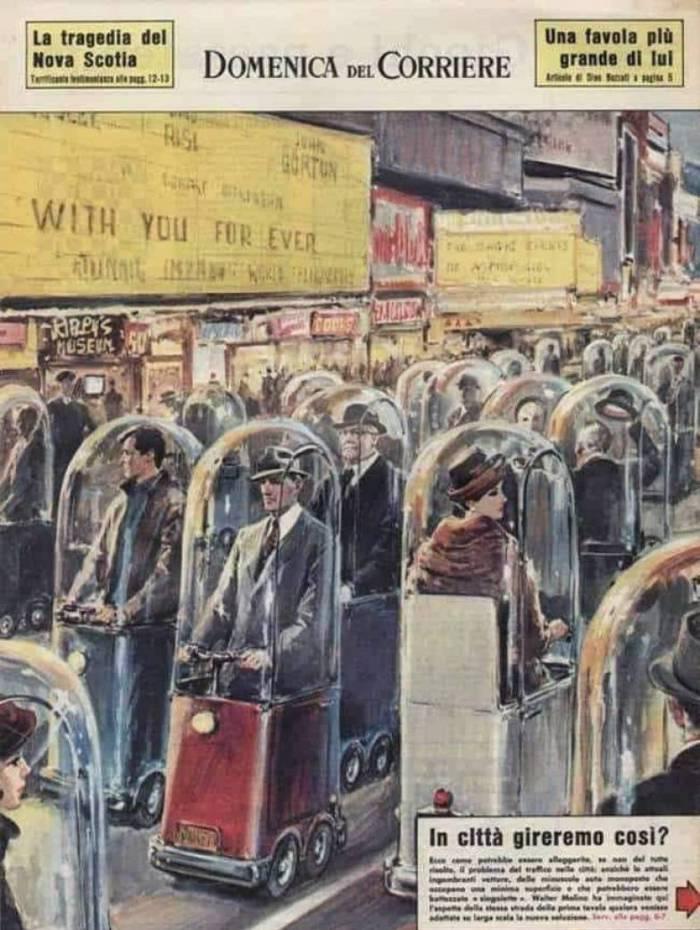 Imagem futurista de 1962 não mostra como seria o mundo em 2022