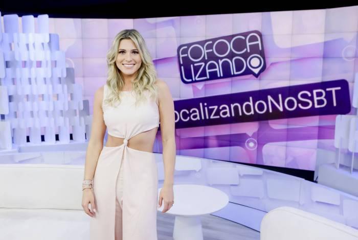 Lívia Andrade no 'Fofocalizando'