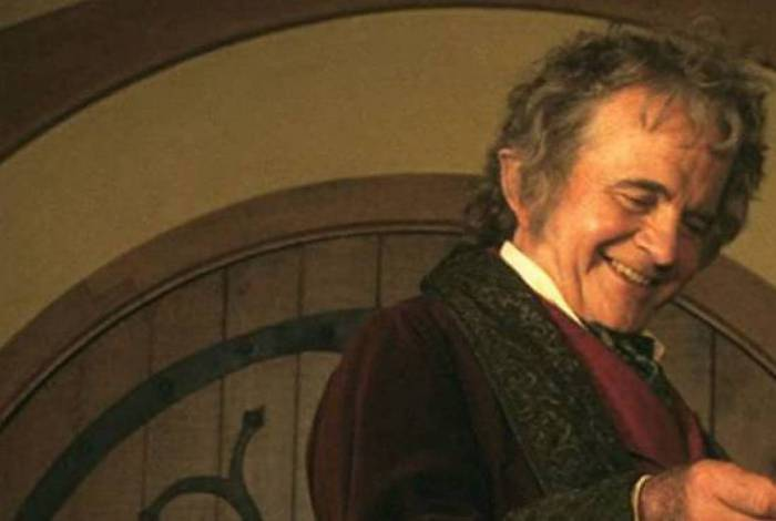 Ian Holm interpretou Bilbo Bolseiro em 'Senhor dos Anéis'