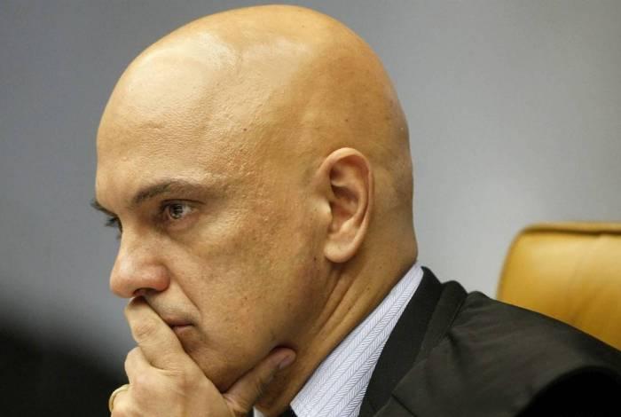 Ministro Alexandre de Moraes, do STF. Contas de bolsonaristas no Facebook foram suspensas em nível mundial