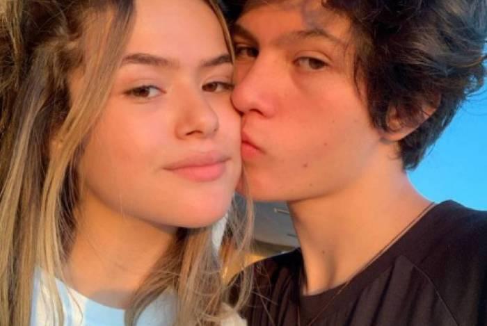 Maisa Silva e namorado