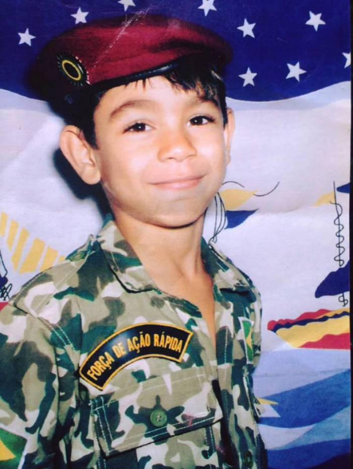 Desde criança Pedro Lucas sonhava ingressar no Exército Brasileiro