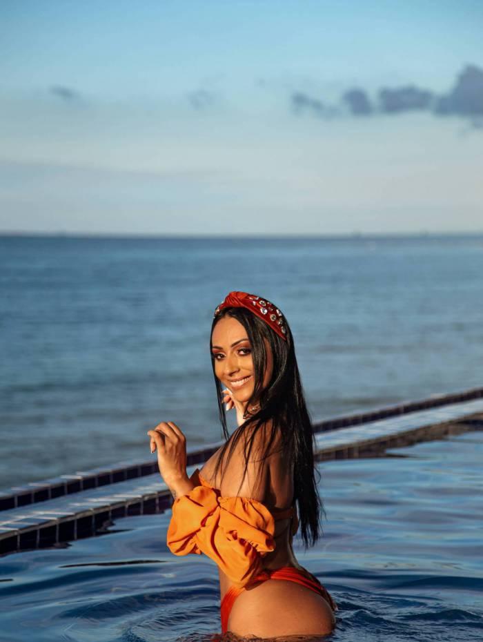 Carla Pagani é musa do Ceará — A Gata da Hora