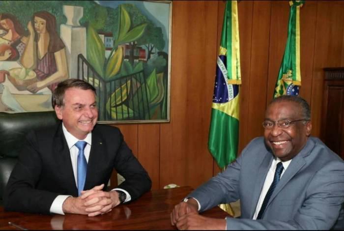 Jair Bolsonaro e Carlos Alberto Decotelli