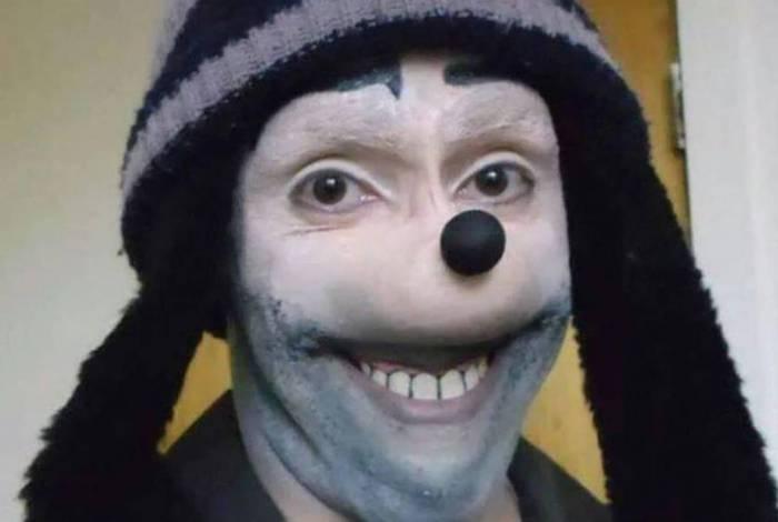 Perfil se identifica como 'Jonatan Galindo' e usa uma foto que se assemelha ao personagem Pateta, da Disney, de forma deformada