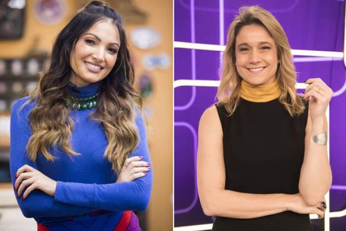 Patricia Poeta e Fernanda Gentil