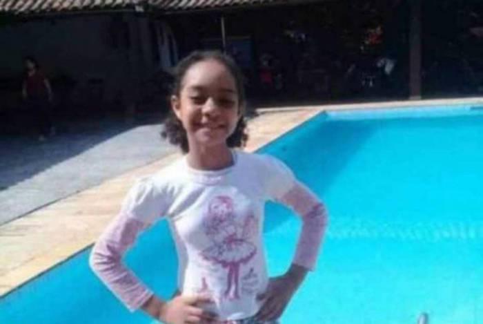 Rayane Cardoso Lopes, de 11 anos, morreu durante ataque