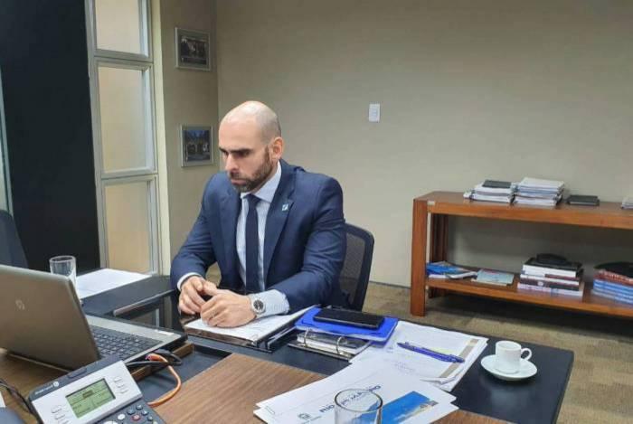 Secretário estadual de Fazenda, Guilherme Mercês completou um mês à frente da pasta
