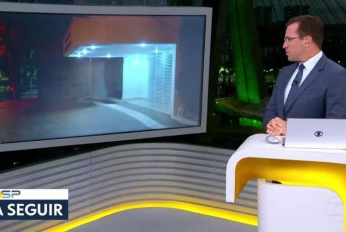 Rodrigo Bocardi 'fica no vácuo' ao chamar repórter