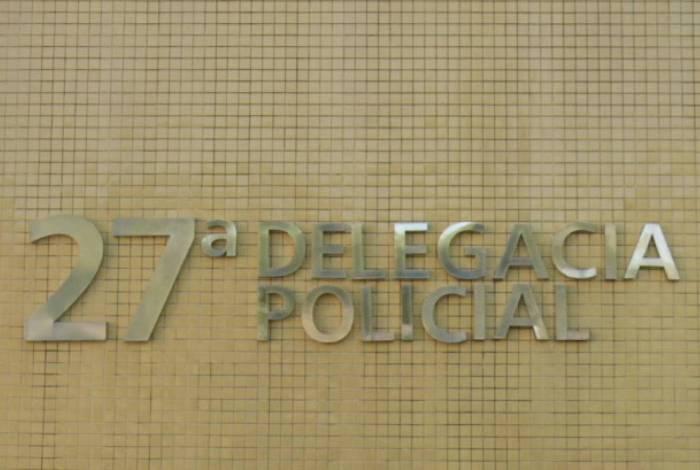 A ocorrência foi encaminhada a A ocorrência foi registrada na 27ª DP (Vicente de Carvalho)