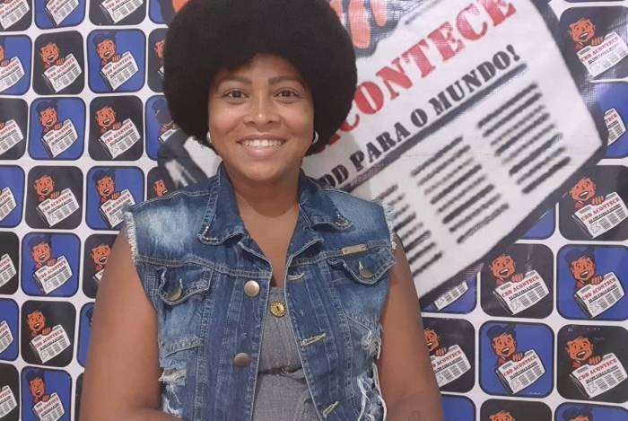 Carla Siccos, do jornal CDD Acontece