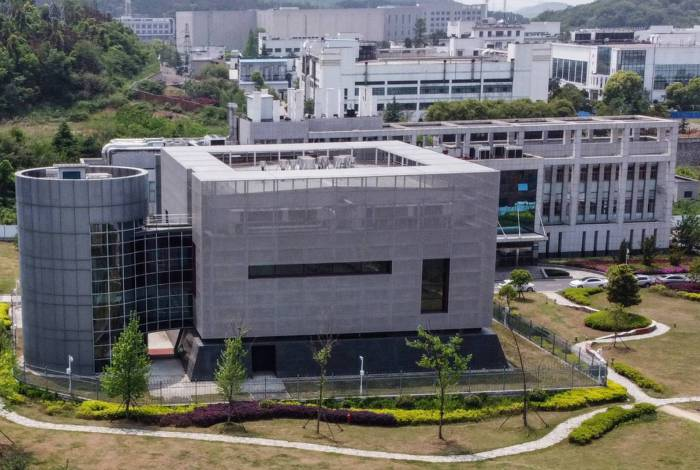 Instituto de Virologia em Wuhan, na China