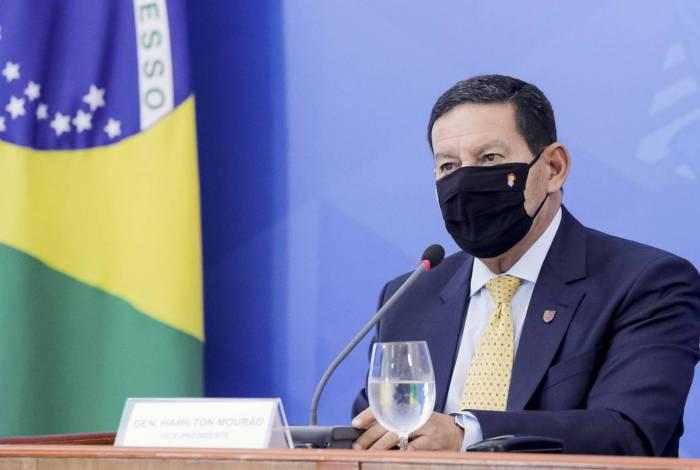 """Mourão defendeu ainda que agronegócio """"é o setor mais comprometido com a preservação ambiental"""""""