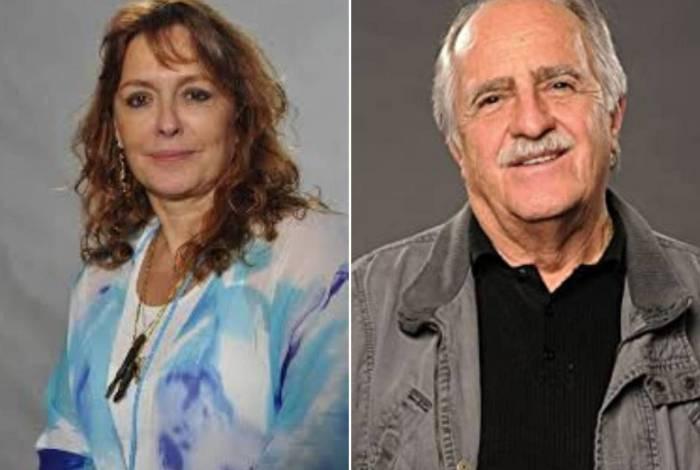 Maria Zilda Bethlem e Ary Fontoura