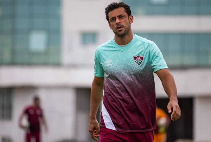 O atacante Fred será desfalque do Fluminense nos próximos dias