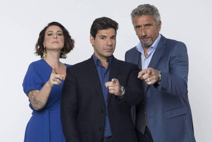 Ailin Aleixo, Felipe Bronze e Emmanuel Bassoleil comandam a nova temporada do 'Top Chef Brasil'