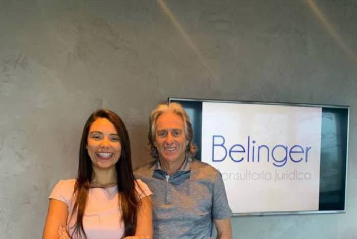 Jorge Jesus e Ana Paula Belinger