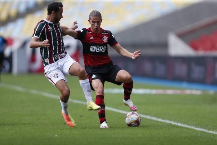 Flamengo e Fluminense se enfrentam nesta quarta