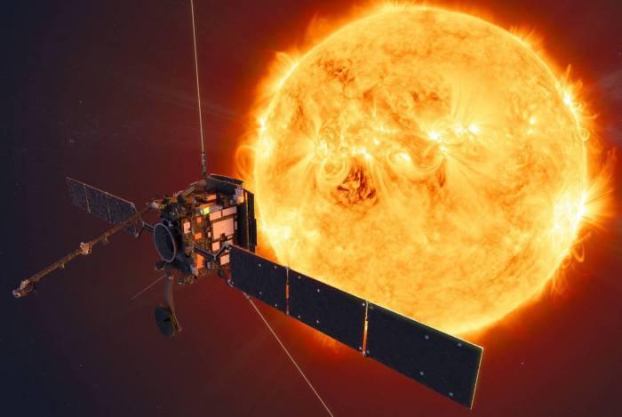 Nasa divulgou novas votos do Sol, tiradas com a sonda Solar Orbiter