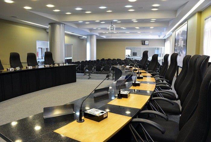 Plenário da Câmara de Vereadores de Nova Friburgo
