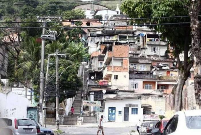 Morro da Barão, na Praça Seca