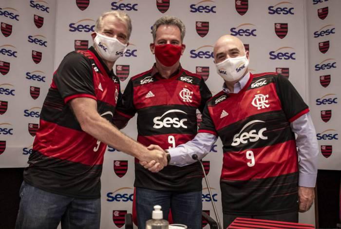 Flamengo e Sesc RJ formalizam união no vôlei feminino