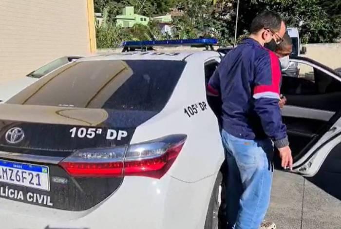 Homem acusado de estuprar adolescente portador de transtorno mental foi preso na manhã desta segunda por policiais da 105ª DP (Petrópolis)